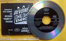 DEVONE Energy PROMO CD SINGLE Techno EURO HOUSE Club DANCE Pete Lorimer Remix