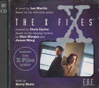 The X Files E.B.E. Les Martin 2CD Audio Book Unabridged + Poster TV Series