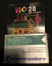 Expense Calender VIC-20 Tape Cassette Boxed 57857
