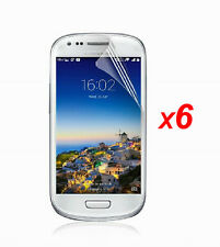 6X Clear LCD Screen Protector Cover Shield Guard Film for Samsung Galaxy S3 Mini