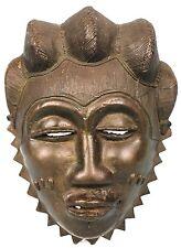 Art Africain - Important Masque de Famille Baoulé en Bronze - Côte d'Ivoire +++