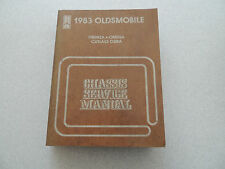Oldsmobile Firenza Omega Cutlass Ciera 1983 shop service manual