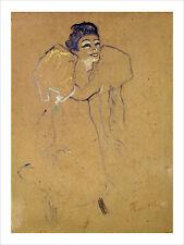 Toulouse-Lautrec - Mademoiselle Polaire fine art print poster various sizes