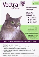 Vectra for Cats Kittens Over 9 lbs Flea and Tick Spot On Treatment 3 Month