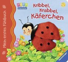 Mein erstes Fühlbuch: Kribbel, krabbel, Käferchen von Sandra Grimm (2012, Ringbuch)