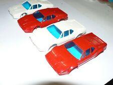 4 Carrera Car Racing Karosserien BMW M1 rot und weiß zum Basteln
