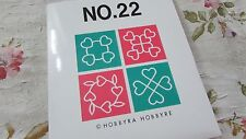 NEW Brother Embroidery Card #22 Quilt Hobbyra w/ Templates SEALED Templates