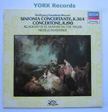 SA 17 - MOZART - Sinfonia Concertante MARRINER Academy of SMITF - Ex LP Record
