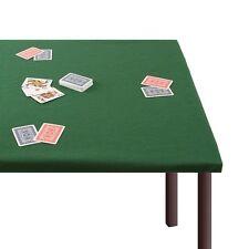 Panno da gioco Verde 120x160 cm Copri Tavolo Verde Poker Burraco Scala 40