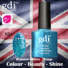 UK SELLER Gdi Nails Diamond Glitters K24 UV/LED Gel Soak Off nail polish