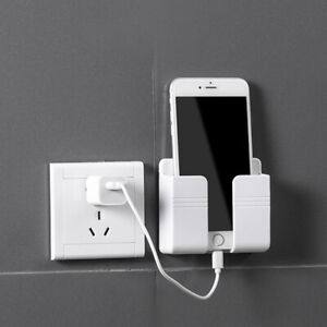 Wall Mounted Phone Case Waterproof Phone Holder Bathroom Toilet Punch-free AU