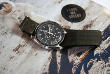 NASA strap for Omega Speedmaster Moonwatch with original VELCRO® Brand fastener