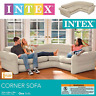 """Luxurious Comfortable And Large Intex Inflatable Corner Sofa 101"""" X 80"""" X 30"""""""