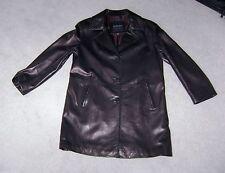 ANDREW MARC NEW YORK Women's Black Leather Jacket Size Medium Retail $500 BOYDS