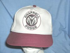 #2788N - TRUCKER STYLE HAT, CAP - CHAPRELL DODGE DEALER, ADA, OKLAHOMA - NEW!