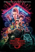 STRANGER THINGS SUMMER OF 85 ROLLED POSTER PRINT  WALL HANGING SLOT #16