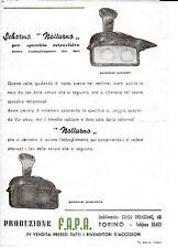 FAPA TORINO SPECCHIO RETROVISORE AUTO NOTTURNO ANNI 1950