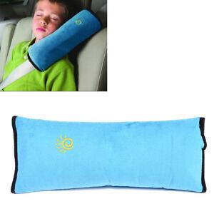 Kids Child Soft Headrest Neck Support Pad Pillow Cushion Safety Car Seat Belt