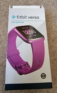 Fitbit Versa Lite Mulberry purple pink