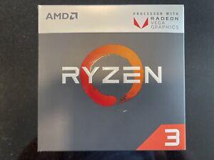AMD Ryzen 3 2200G 3.50 GHz Quad-Core (YD2200C5FBBOX) Processor