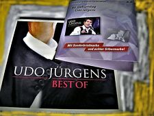 UDO JÜRGENS - BEST OF 2CD LIMITED EDITION + SONDERBRIEFMARKE & SILBERMARKE | OVP