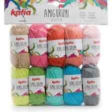 Katia ::Amigurumi #S03:: 100% cotton 10 skeins by 10 g each