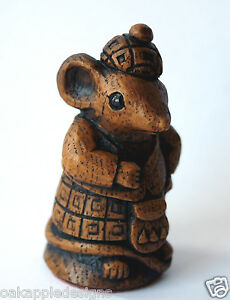 Church Mouse Ornament Scottish Highlander Unique Collectable Mice Gift Tartan
