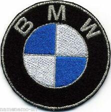 Toppa ricamata patch termoadesiva BMW diametro mm. 55