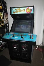 THE SIMPSONS 4 Player Arcade Game Machine - Works Great!