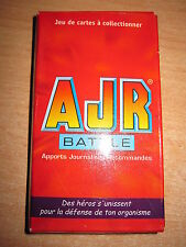JEU DE 26 CARTES COMPLET 2004 FLUNCH RESTAURANT AJR BATAILLE (dé inclus) NEUF
