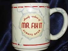 Enesco Mr Fixit Always Open Hot Glue Holds World Mug HEADQUARTERS OF DOUG PAGACZ