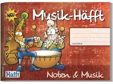 Notenheft/Musikheft von Häfft A5 quer