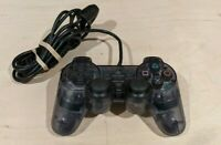Sony PlayStation 2 OEM analog controller SCPH-10010 PS2 Dualshock 2 Transparent