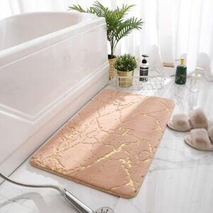 Faux Mat Bathroom Non-Slip Bath Mats Living Room Sofa Area Mat Home Floor Rugs