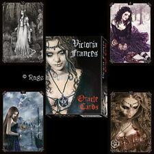 *VICTORIA FRANCES ORACLE CARDS* Gothic Fantasy Vampire Art