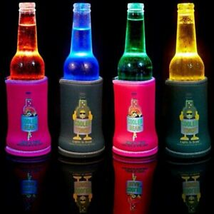 Cooler Torch Stubby Cooler - LED Light Up Drink Illuminator & Torch