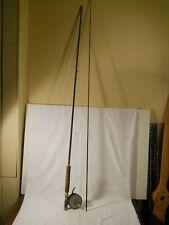 Vintage Mohawk Rainbow Fly Rod and pachner & koller re-treev-it reel