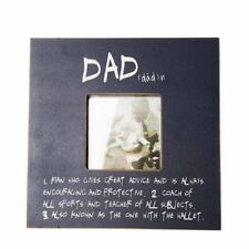 Dad Sentiment/Meaning Photo Frame Fathers Day/Birthday/Christmas Present/Gift