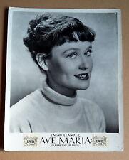 AVE MARIA * INGRID PAN, ZARAH LEANDER - AUSHANGFOTO - Ger Lobby Card 1950er