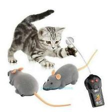 Cat Dog Pet Wireless Remote Control RC Rat Mouse Interactive Toy Novelty Gift