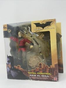 Batman Begins Movie Battling Figure Total Control Ra's Al Ghul