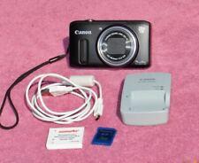 Canon Powershot SX260 HS 12.1MP, 20x Digital Camera, Black-VG/Exc