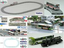 KATO by TOMIX CIRCUITO OVALE COMPLETO B1 con AUTOBUS ELETTRICO-MAGNETICO SCALA-N
