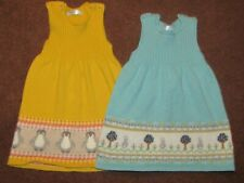 TWO BABY GIRLS BABY ,MINI BODEN DRESSES AGE 3-6 MONTHS
