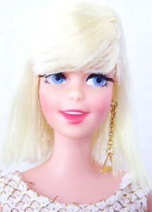 Spectacular Vintage Platinum Blonde Twist 'N Turn Casey Doll MINT