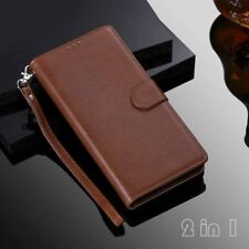 For iPhone 12 11 Pro Max XR SE 8 6s Magnetic Removable Wallet Leather Case Cover