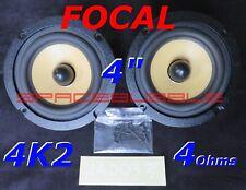 "FOCAL Pair MID WOOFER 5"" 130mm 4K2 Polykevlar Cone High End Car Speaker"