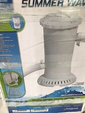 New listing Polygroup 1075 Gph Easy Set Above Ground Swimming Pool Filter Pump System