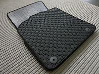 $$$ Gummimatten passend für Jaguar XJ X351 BEIGE NEU $ Gummi Fußmatten