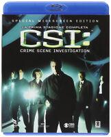 CSI - Scena Del Crimine - Stagione 1 Completa - Cofanetto 5 Blu Ray - Nuovo